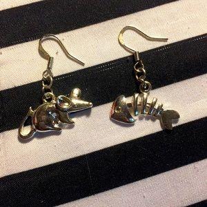 Mismatch earrings